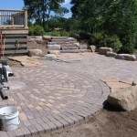 patio, pavers, landscape