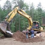 dirt, landscaping