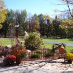 Garden surrounding design