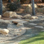 rock, stone, path, walkway, footpath