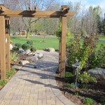 Arbor over path adds depth