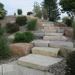 rock, slabs, steps, pathway, walk way