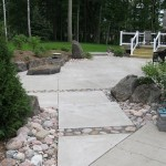 walkway, stone, concrete