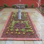 Completed garden