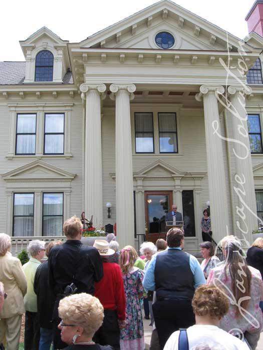 Yawkeye House Museum restoration debut