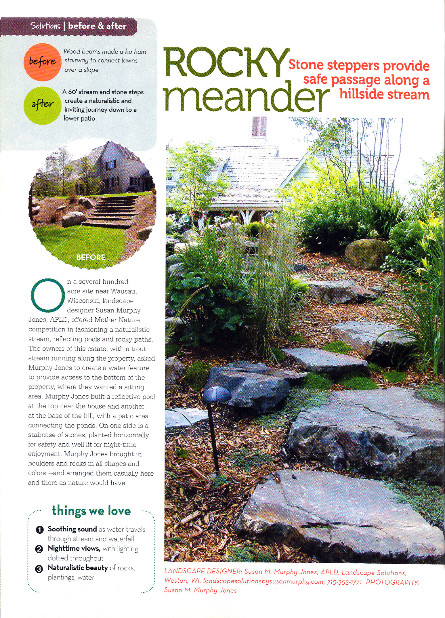 rocky meander backyard solutions magazine landscape solutions