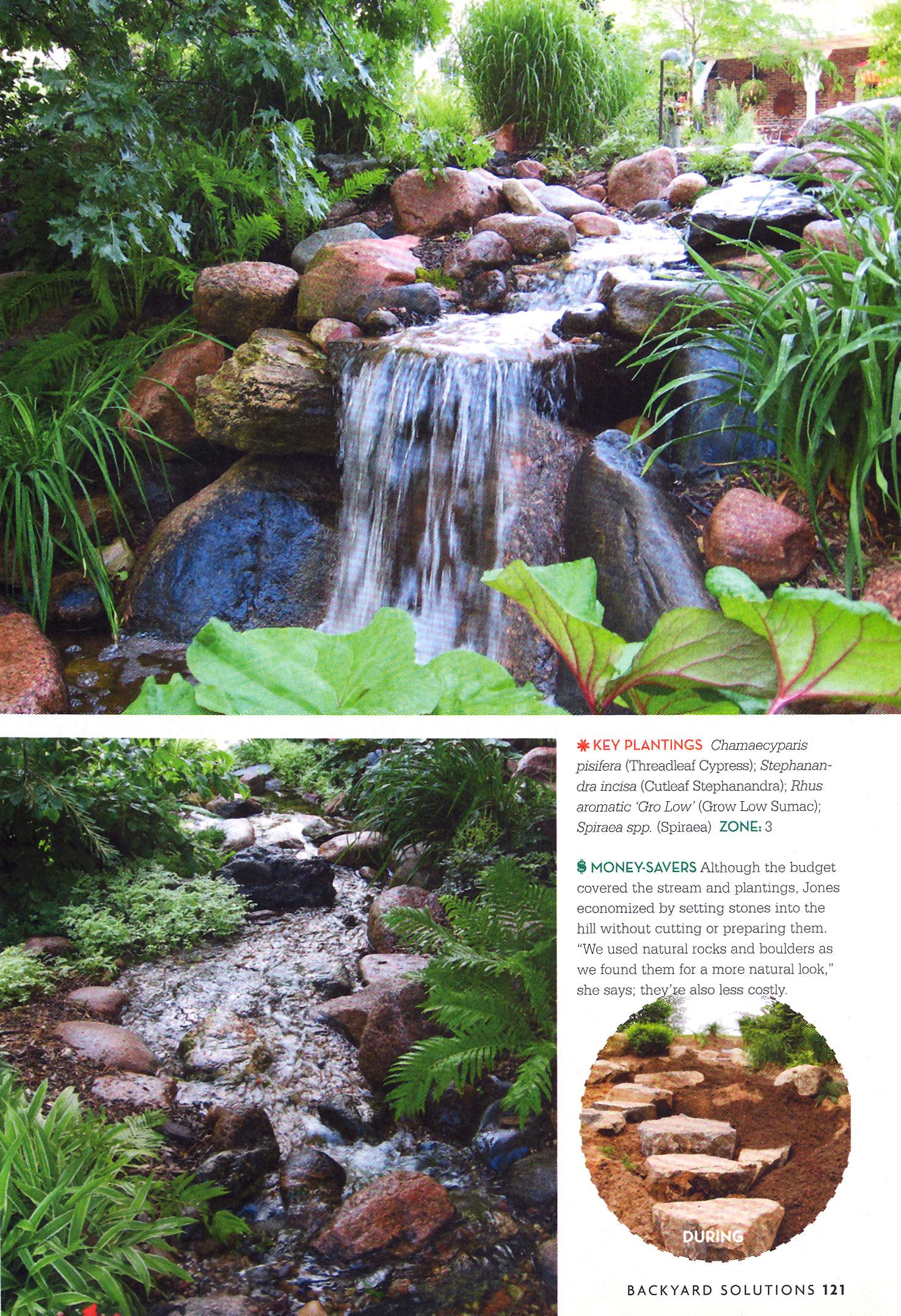 rocky meander backyard solutions magazine landscape solutions