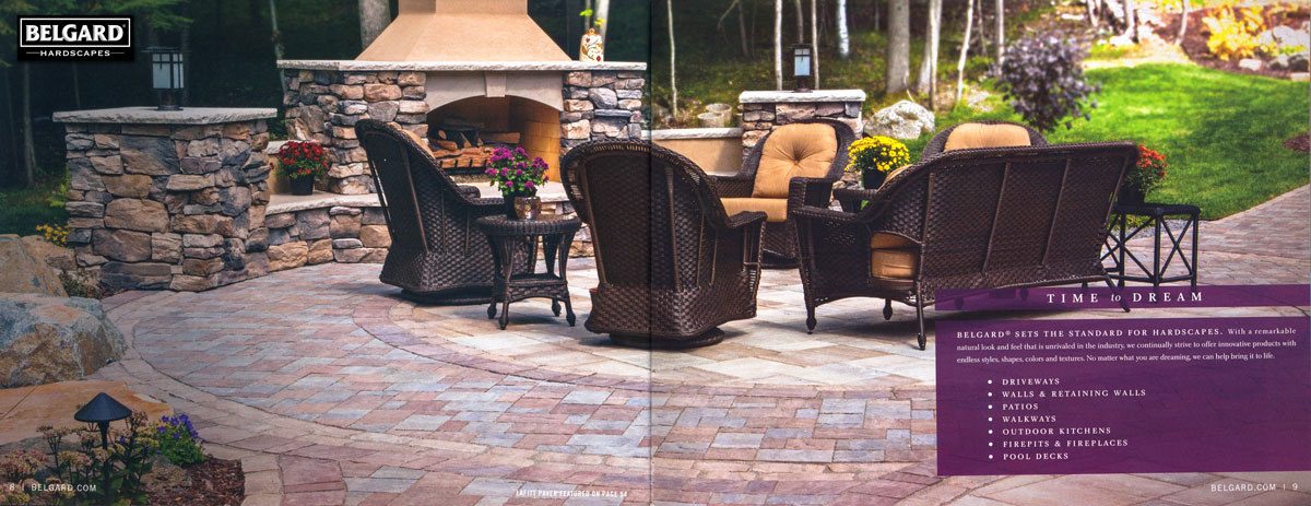 Landscape Solutions featured in Belgard Hardscape Catalog